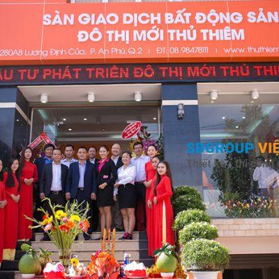 mau bang hieu cong tybds 400x400 - Cung cấp tấm mica làm bảng hiệu quảng cáo, gia công, trang trí nội ngoại thất