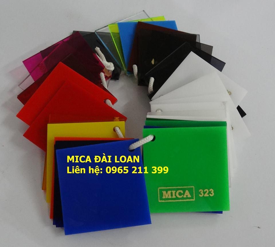 Thị trường tấm mica tại TPHCM