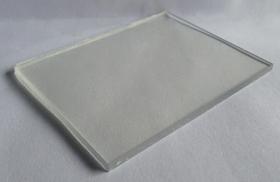 tam lop lay sang thong minh polycarbonate dac ruot trang trong clear - Tấm poly đặc ruột