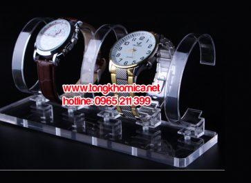 Kệ trưng bày đồng hồ mica
