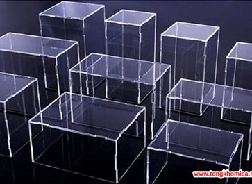 Hộp nhựa mica trưng bày lưu niệm