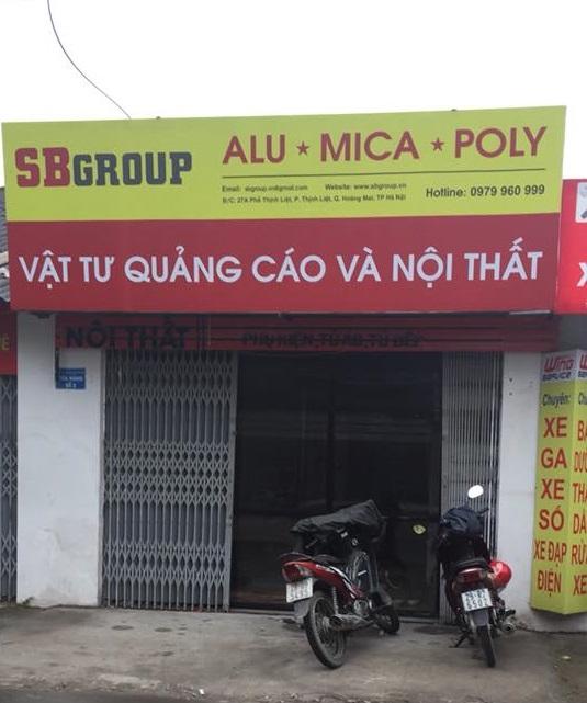 Cửa hàng bán mica tại Hà Nội - Báo giá tấm nhựa mica tại Hà Nội