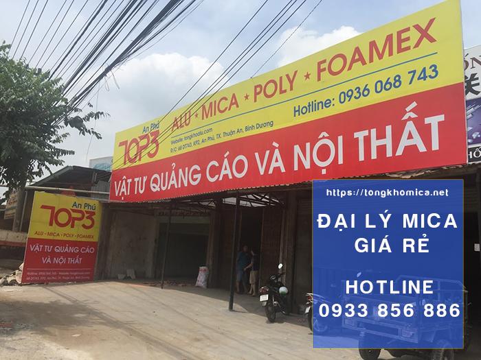 DaiLyMicaTaiBinhDuong - Bảng Báo Giá Tấm Nhựa Mica Giá Sỉ Tại Bình Dương