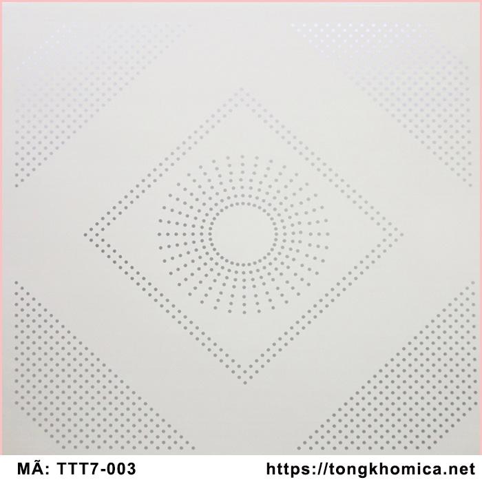 tấm trần nhựa pvc mã 003