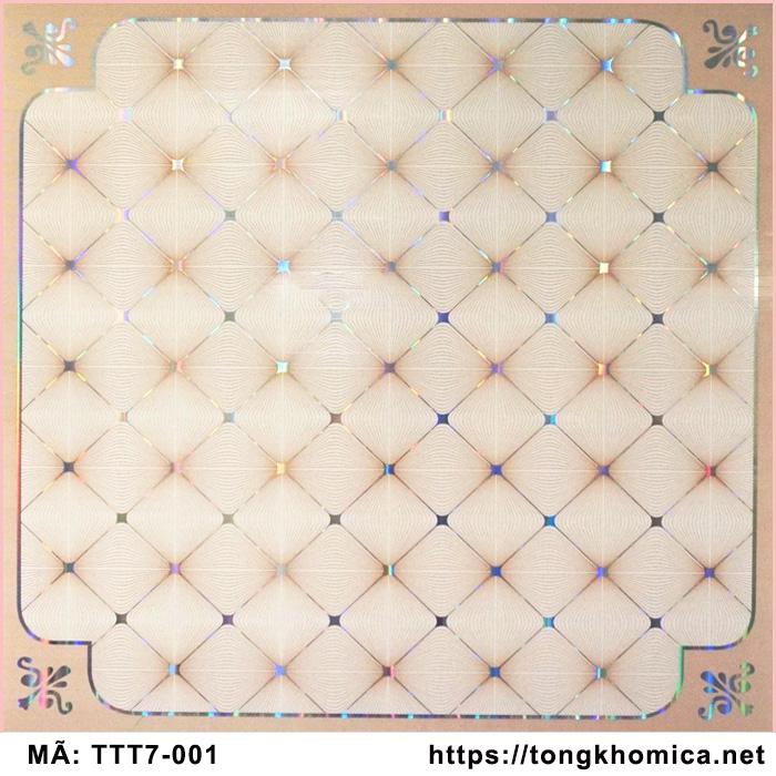 tấm trần nhựa pvc mã 001