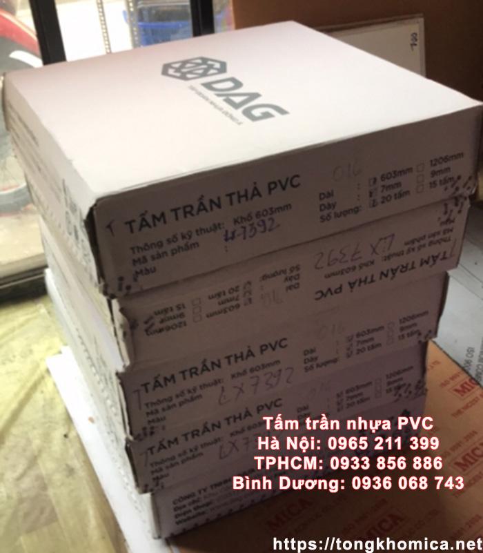 tam tran tha pvc gia si - Giá Trần Nhựa PVC – Giá Trần Thả PVC