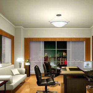 tran thach cao phang 300x300 - Các loại trần nhà phổ biến nhất hiện nay