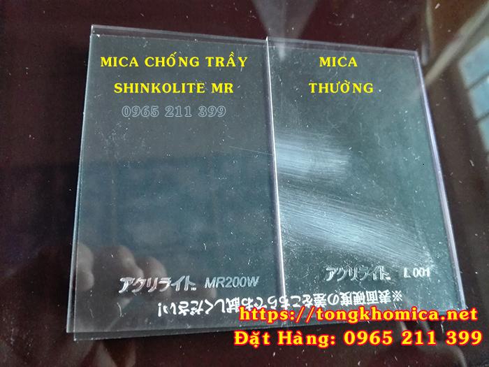 TAM MICA CHONG TRAY XUOC - Mica Chống Trầy Xước Shinkolite Nhật Bản Chất Lượng Cao